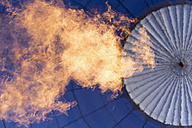 Flame inside air balloon - HLF000636