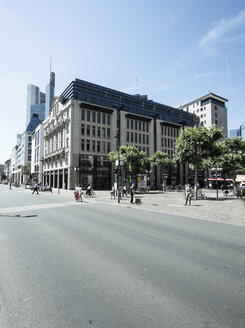 Germany, Hesse, Frankfurt, buildings at Goetheplatz and Rossmarkt - AMF002679