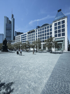 Germany, Hesse, Frankfurt, buildings at Goetheplatz and Rossmarkt - AMF002684