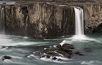Iceland, Pingeyjarsveit, Godafoss Waterfall - MKF000072
