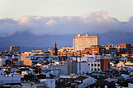 Spain, Madrid, city center, view over the roofs of Malasana - MIZ000604