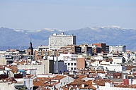 Spain, Madrid, view over the roofs of Malasana - MIZ000608
