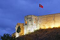 Turkey, Gaziantep, citadel in the evening - SIE005824
