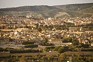 Morocco, Fes, view to the city - KM001379