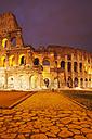 Italy, Lazio, Rome, Colosseum in the evening - GW003120