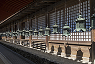 Japan, Nara, Kasuga Grand Shrine, Lanterns, Shadows - HL000707