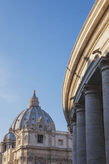 Italy, Rome, cupola of St. Peter's Basilica - GW003292