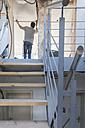 Man renovating house - DRF001088