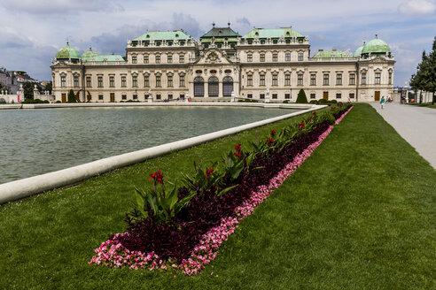 Austria, Vienna, view to Belvedere - EJW000506