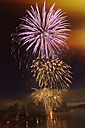 Switzerland, Stein am Rhein, Fireworks - MS004151