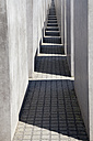 Germany, Berlin, Holocaust Memorial, Concrete stelaes - WIF000948