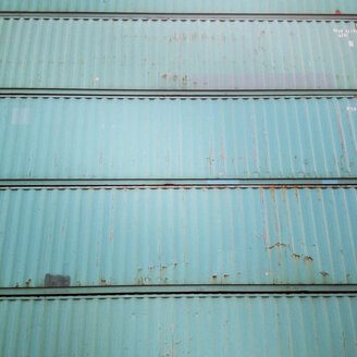 batch of blue container, port of Hamburg, Germany - MEMF000441