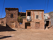 Morocco, Marrakesh-Tensift-El Haouz, Atlas Mountains, Village Anammer, Ourika Valley, Loam houses - AMF002756