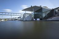 Germany, Berlin, view to Marie-Elisabeth-Lueders-Building - HCF000058