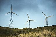 Spain, Andalusia, Tarifa, Wind farm - KBF000155