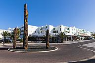 Spain, Canary Islands, Lanzarote, Costa Teguise, Los Ancones, Plaza de Tenerife - AMF002773