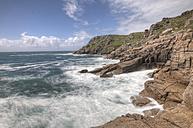 United Kingdom, England, Cornwall, Bay of Porthcurno - ZCF000148