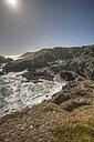 United Kingdom, England, Kynance Cove, Lizard Point, Coast and houses - ZCF000150