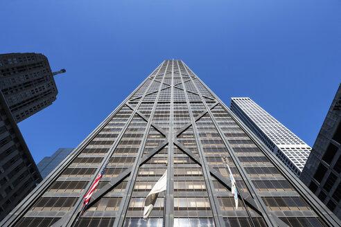 USA, Illinois, Chicago, John Hancock Center - FOF007155