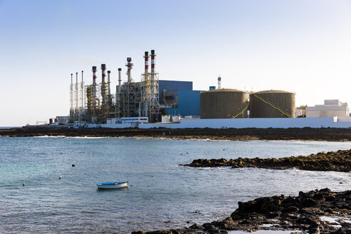 Spain, Canary Islands, Lanzarote, Arrecife, Industrial plant of Disa company - AMF002799