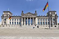 Germany, Berlin, Berlin-Tiergarten, Reichstag building - WIF000983