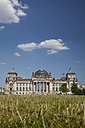 Germany, Berlin, Berlin-Tiergarten, Reichstag building - WIF000988
