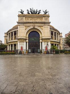 Italy, Sicily, Palermo, Teatro Politeama Garibaldi - AMF002825