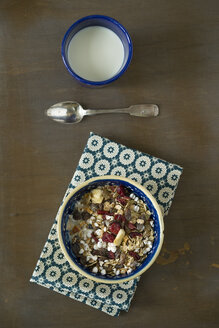 Fruit muesli with puffed buckwheat - MYF000544