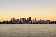 USA, California, San Francisco, skyline in morning light - BR000783
