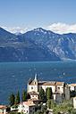 Italy, Veneto, Brenzone, Marniga Church San Giovanni Battista - LVF001823
