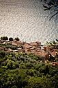 Italy, Veneto, Brenzone, Lake Garda, Castelletto di Brenzone - LVF001817
