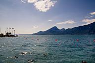 Italy, Veneto, Brenzone, Lake Garda, Castelletto di Brenzone - LVF001810