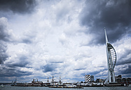 United Kingdom, England, Hampshire, Portsmouth, Harbour, Spinnaker Tower - DISF000991