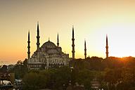 Turkey, Istanbul, Blue Mosque - LHF000384
