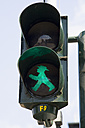 Germany, Berlin, traffic-light man - PS000639