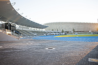 South Africa, Cape Town, view to empty stadium - ZE000857