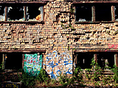 Germany, detail of a ruined house - TKF000376