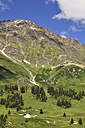 Switzerland, Canton of Graubuenden, View from San Bernadino to Swiss Alps - SCH000405