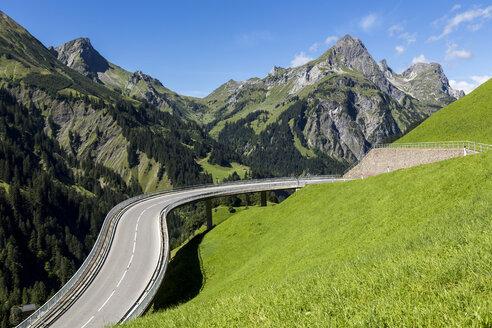 Austria, Vorarlberg, Hochtannberg Mountain Pass near Schroecken - STSF000504