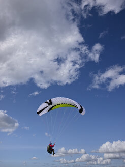 Paraglider up in the air - LAF001036