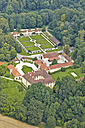 Germany, Bavaria, Winhoering, aerial view of Frauenbuehl Castle - KD000031