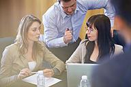 Business meeting in boardroom - ZEF000875