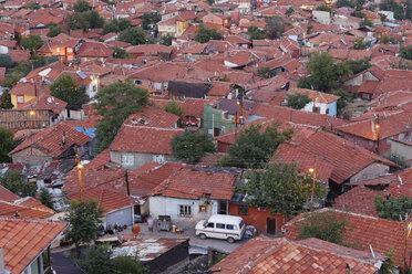 Turkey, Ankara, View of the city, Gecekondu dwelling - SIEF005920