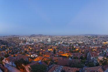 Turkey, Ankara, View of the city, Gecekondu dwelling - SIEF005930