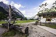 Austria, Tyrol, Karwendel mountains, Grosser Ahornboden, Engalm - THAF000716