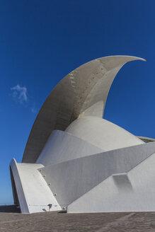 Spain, Canary Islands, Tenerife, Santa Cruz de Tenerife, view to Auditorio de Tenerife - MAB000250
