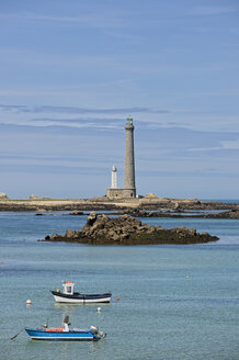 France, Brittany, Department Finistere, Ile Vierge, Lighthouses - LAF001136