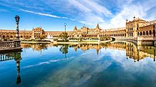 Spain, Andalusia, Seville Province, Malaga, Plaza de Espana - PUF000089