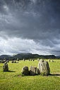 United Kingdom, England, Cumbria, Lake District, Castlerigg stone circle - ELF001292