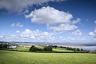 United Kingdom, England, Lancashire, View to Morecambe Bay - ELF001295